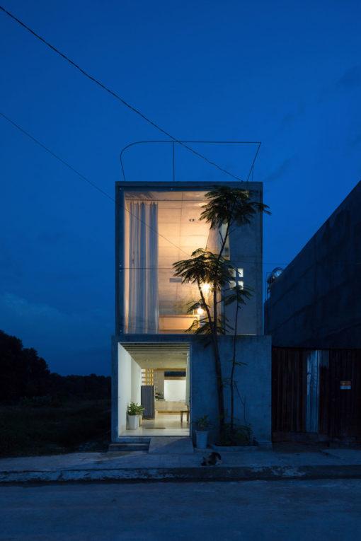 Thi house - Giải pháp xây dựng với kinh phí thấp