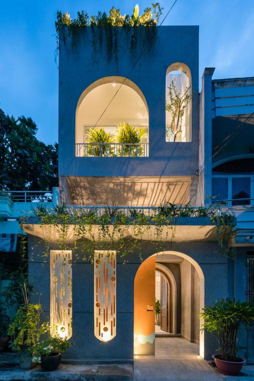 Cải tạo nhà 3 tầng cũ với phong cách hiện đại